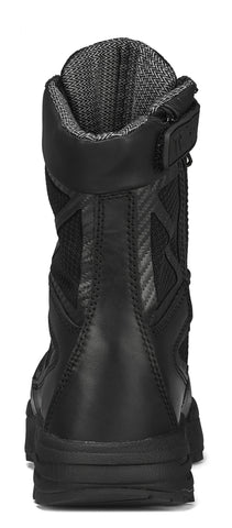 Belleville Tactical Research 8in WP Zip CT Boots TR998ZWPCT Black Leather
