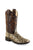 Old West Brown Children Girls Glitter Leopard Cowboy Western Boots