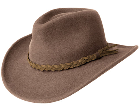 Bailey Switchback Pecan Womens Felt Western Hat Cassidy