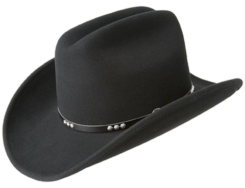 Bailey Vivienne Black Womens Felt Fashion Hat Flat Top.   87.99. Free  Shipping. Bailey Three D Black Unisex Felt Western Hat Cattleman b707ec126044
