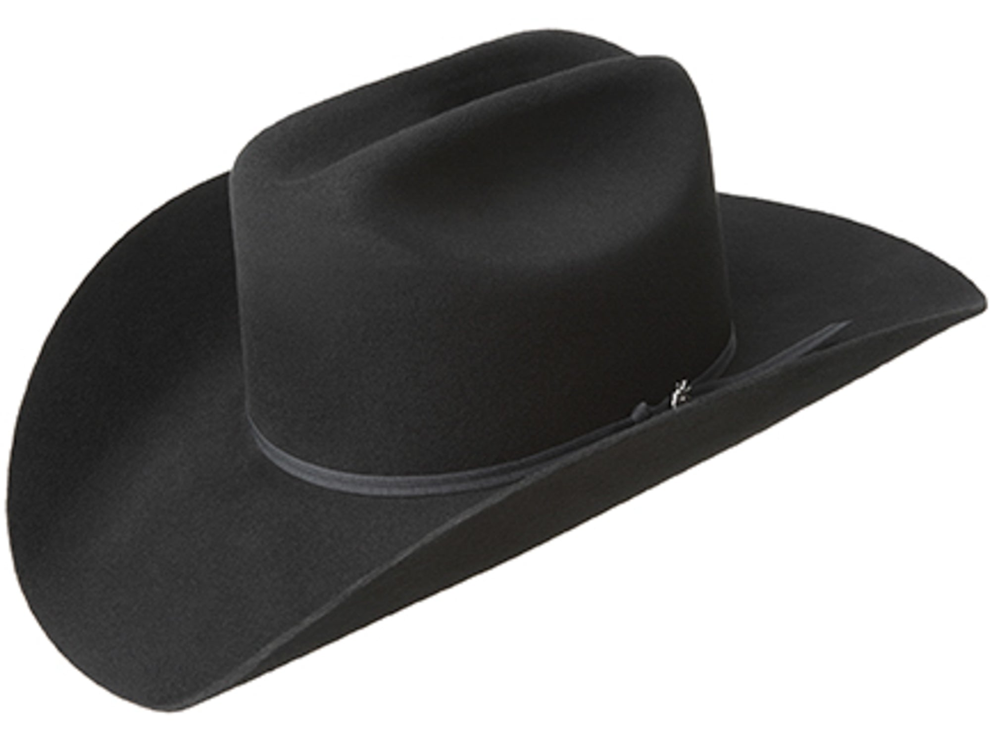 46556ba3df2 Bailey Stampede Black Unisex Felt Western Hat Cattleman 2X – The ...