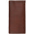 3D Dark Brown Pebble Leather Rodeo Wallet Basic
