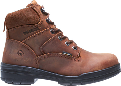 Wolverine Mens Canyon Leather 6in Slip-Resistant Work Boots