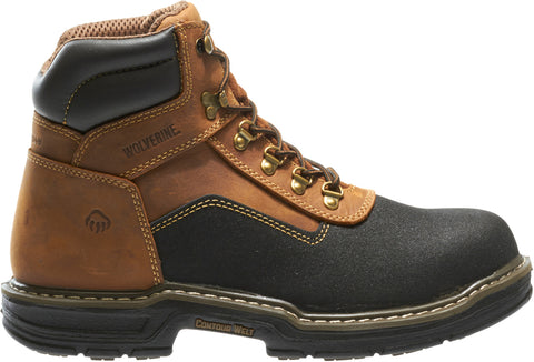 Wolverine Mens Brown Leather Corsair WP CT EH Work Boots