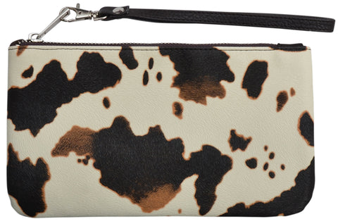 Angel Ranch Faux Leather Womens Wristlet