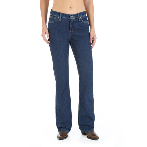 Wrangler CW Denim Cotton Blend Womens As Real As Misses Jeans
