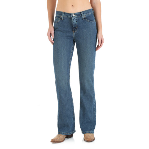 Wrangler MG Denim Cotton Blend Womens As Real As Misses Jeans