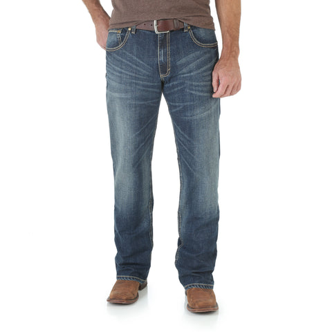 Wrangler Layton Cotton Blend Mens Retro Jeans