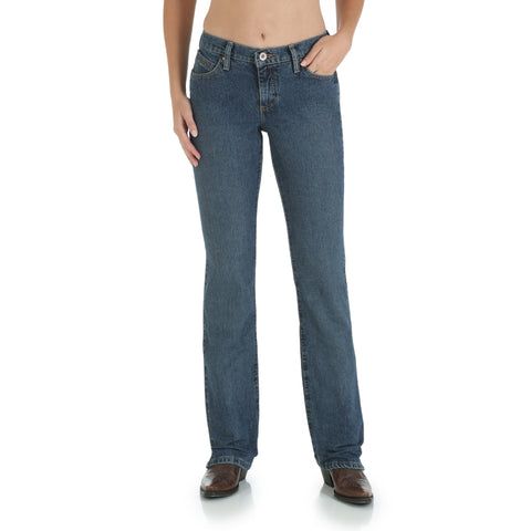 Wrangler American Spirit 100% Cotton Womens Western Riding Jeans