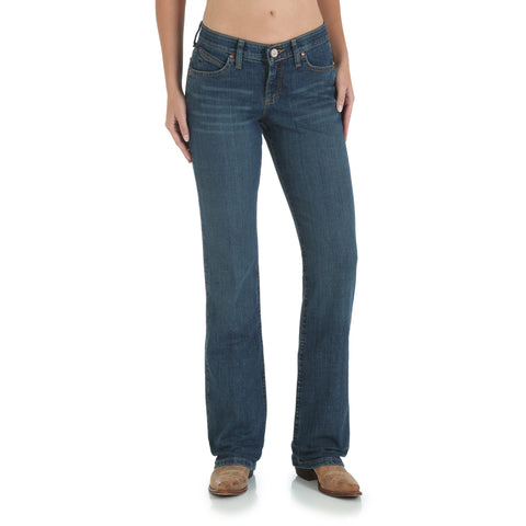 Wrangler Tuff Buck Cotton Blend Womens Western Ultimate Riding Jeans