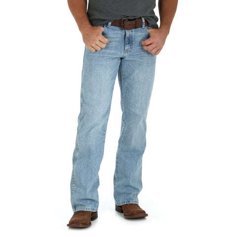 Wrangler Crest 100% Cotton Mens Retro Fabens Jeans