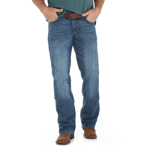 Wrangler TB Wash 100% Cotton Mens Retro Fabens Jeans