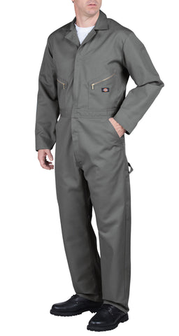 Dickies Mens Gray Deluxe Blended Coverall