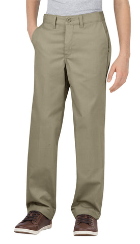 Dickies Boys Desert Sand Flex Straight Leg Ultimate Khaki Pant