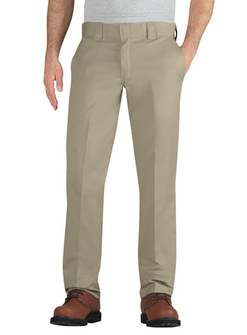 Dickies Mens Desert Sand Flex Taper Leg Pocket Work Pant