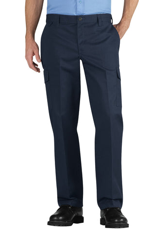 Dickies Mens Navy Industrial Relaxed Fit Straight Leg Cargo Pants