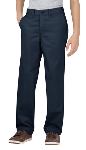 Dickies Boys Dark Navy Flex Straight Leg Ultimate Khaki Pant