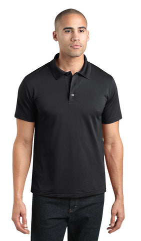 Dickies Mens Black S/S Adult Performance Short Sleeve Polo