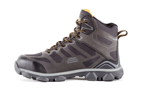 DeWalt Mens Kevlar Kevlar Cross Fire Mid CP/AT Work Boots