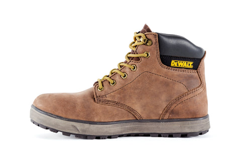 DeWalt Mens Palm Crazy Horse Leather Plasma ST Work Boots