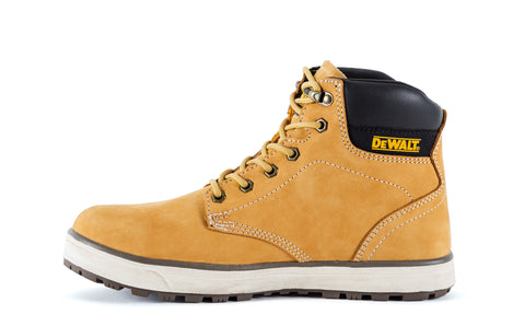 DeWalt Mens Wheat Full Grain Leather Plasma ST Work Boots