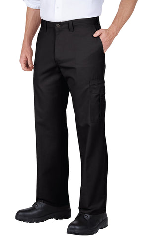 Dickies Mens Dow Charcoal Industrial Relaxed Fit Cargo Pant