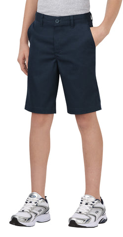 Dickies Boys Dark Navy Boys Flexwaist Classic Fit Ultimate Khaki Short