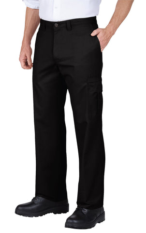 Dickies Mens Black Industrial Relaxed Fit Cargo Pant