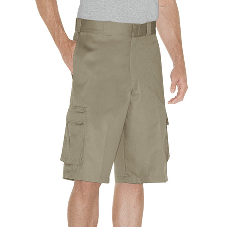 Dickies Mens Desert Sand 13In Loose Fit Cargo Short
