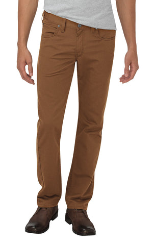 Dickies Mens Brown X-Series Flex Tapered Leg Pants