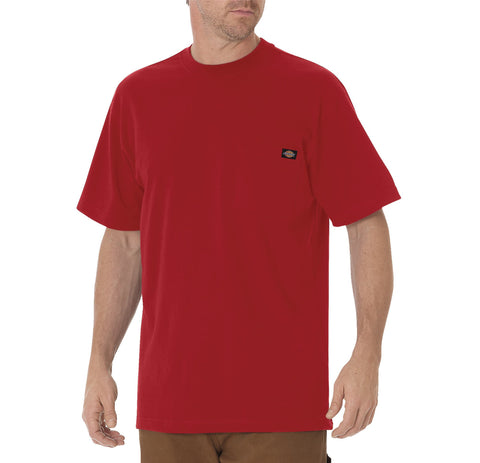 Dickies Mens English Red S/S Short Sleeve Heavyweight Tee