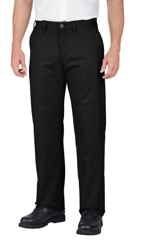 Dickies Mens Black Industrial Double Knee Pants