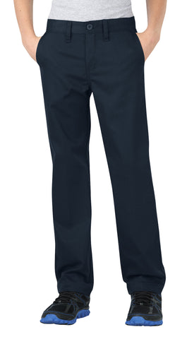 Dickies Boys Dark Navy Flexwaist Straight Leg Ultimate Khaki Pants