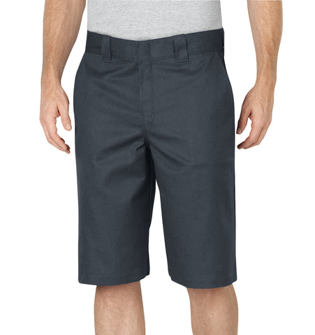 Dickies Mens Charcoal Flex 13In Relaxed Fit Work Short