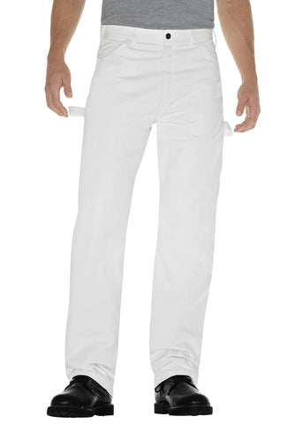 Dickies Mens White Painters Pants
