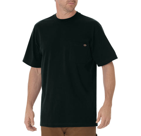 Dickies Mens Hunter Green S/S Short Sleeve Heavyweight Tee