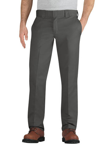 Dickies Mens Gravel Gray Flex Taper Leg Pocket Work Pant