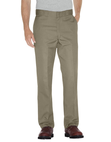 Dickies Mens Khaki Multi-Use Pocket Work Pants