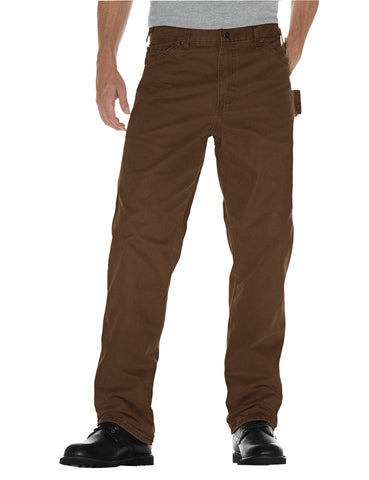 Dickies Mens Rinsed Timber Straight Leg Carpenter Duck Jean