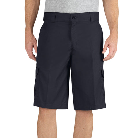 Dickies Mens Dark Navy Flex 13In Relaxed Fit Cargo Short