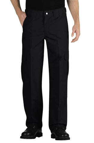 Dickies Mens Black Tactical Straight Leg Liteweight Ripstop Pants
