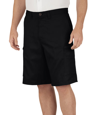Dickies Mens Black 11In Industrial Cargo Shorts