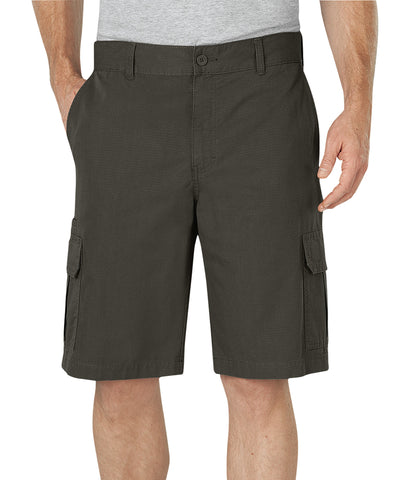 Dickies Mens Moss Green 11In Lightweight Ripstop Cargo Short