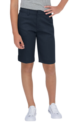 Dickies Girls Dark Navy Bermuda Stretch Twill Short