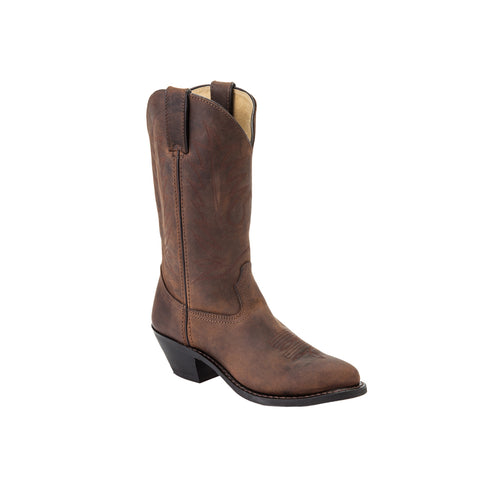 Durango Womens Wild Tan Leather Western #2 Toe Cowboy Boots