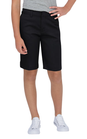 Dickies Girls Black Bermuda Stretch Twill Short
