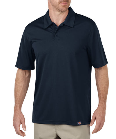 Dickies Mens Dark Navy S/S Industrial Performance Polo Without Pocket