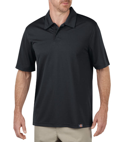 Dickies Mens Dow Charcoal S/S Industrial Performance Polo