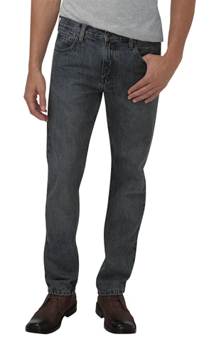 Dickies Mens Heritage Grey Denim X-Series 5-Pocket Denim Jeans