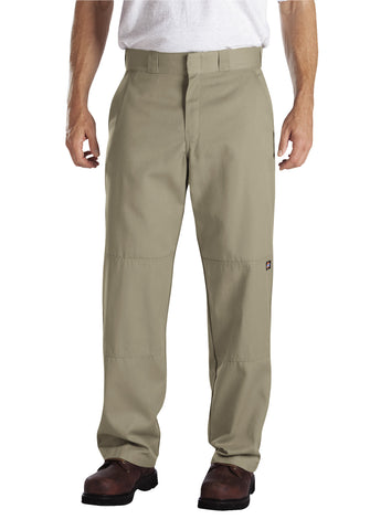 Dickies Mens Desert Sand Relaxed Fit Straight Leg Double Knee Pants
